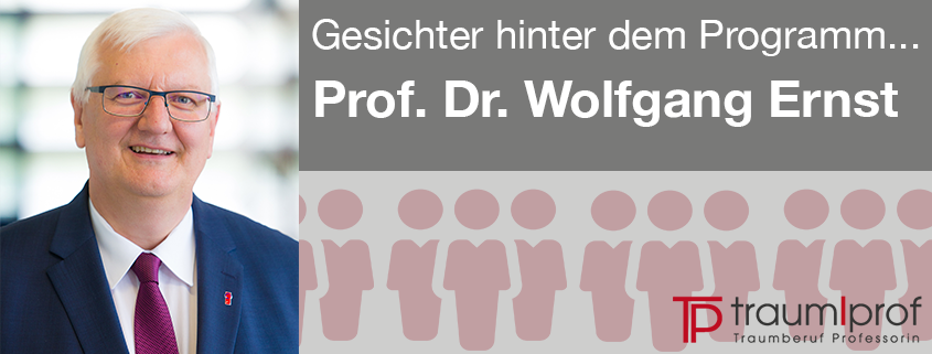 HAW Rektor Prof. Dr. Wolfgang Ernst
